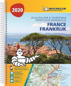 Frankrijk atlas sp. A4 2020