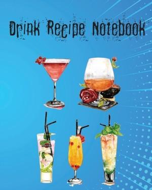 DRINK RECIPE NOTEBK