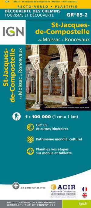 St-Jacques-de-Compostelle / Moissac - Roncevaux GR65-2