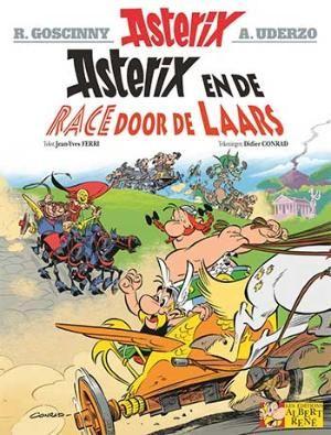 Asterix & Obelix 37 De race door de Laars