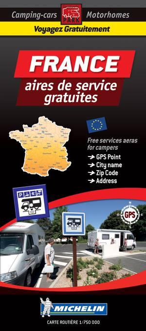 France aires gratuites + parkings gratuits