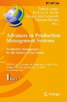 Advances in Production Management Systems. Production Management for the Factory of the Future