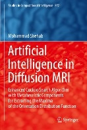 Artificial Intelligence in Diffusion MRI