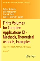 Finite Volumes for Complex Applications IX - Methods, Theoretical Aspects, Examples