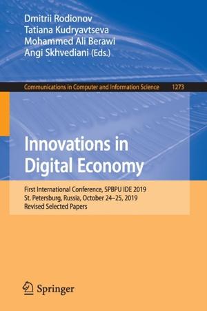 Innovations in Digital Economy