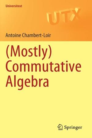 (Mostly) Commutative Algebra