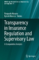 Transparency in Insurance Regulation and Supervisory Law