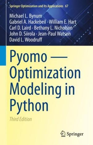 Pyomo - Optimization Modeling in Python