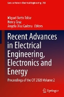 Recent Advances in Electrical Engineering, Electronics and Energy
