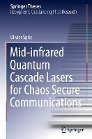 Mid-infrared Quantum Cascade Lasers for Chaos Secure Communications