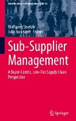 Sub-Supplier Management