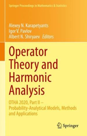 Operator Theory and Harmonic Analysis
