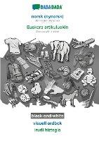BABADADA black-and-white, norsk (nynorsk) - Euskara artikuluekin, visuell ordbok - irudi hiztegia