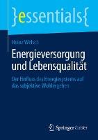 Energieversorgung und Lebensqualität
