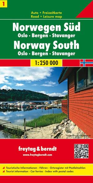 F&B Noorwegen 1, Zuid, Oslo, Bergen, Stavanger