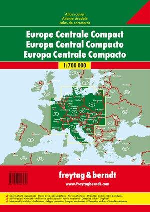 Europa Centr. atlas compact