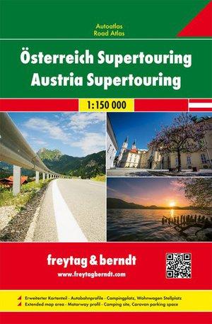 Oostenrijk Supertouring atlas+camping&mobilhome sp.