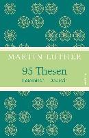 95 Thesen. Lateinisch - Deutsch (Leinen-Ausgabe mit Banderole)