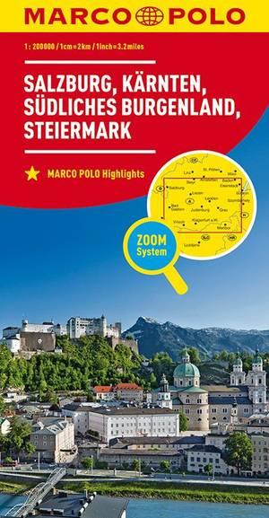 Marco Polo Salzburg, Karinthië, Stiermarken, Zuid-Burgenland 02