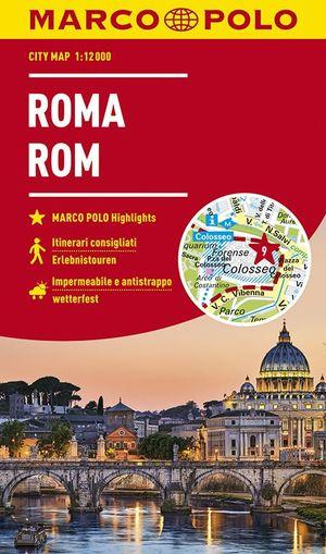 MARCO POLO Cityplan Rom 1:12 000