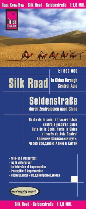 Zijderoute - door Centraal Azië naar China