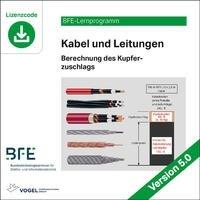 Kabel und Leitungen Version 5.0. Lizenzcode