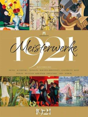 Meisterwerke 1921 - Meesterwerken - Masterpieces - kunstkalender 2021