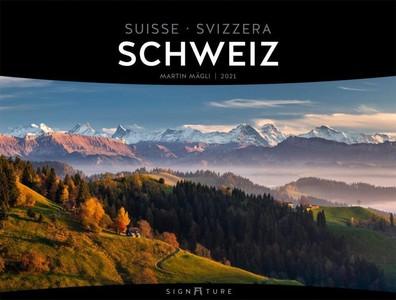 Schweiz - Zwitserland - Switzerland Signature kalender 2021