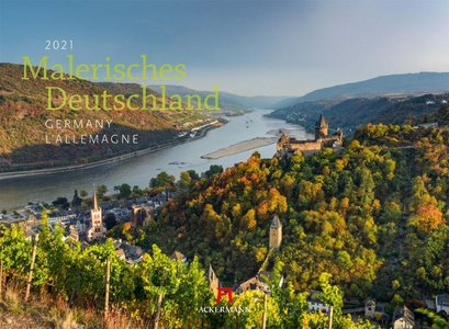 Malerisches Deutschland - Pittoresk Duitsland - Picturesque Germany kalender 2021