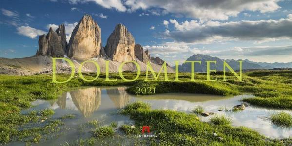 Dolomiten - Dolomieten - Dolomites kalender 2021