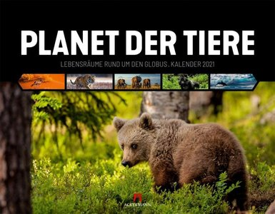 Planet der Tiere - Planeet der Dieren - Animal Planet kalender 2021