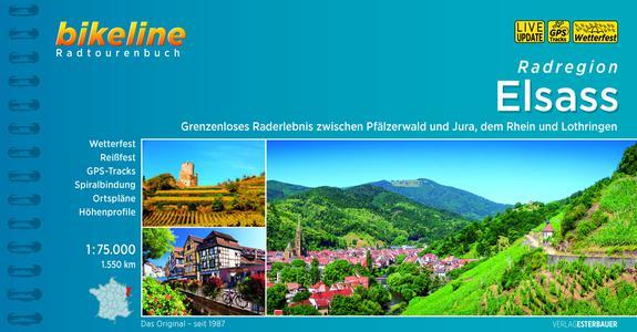 Elsass Radregion zwischen Pfälzerwald und Jura, Rhein und Lothringen
