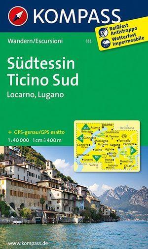 Südtessin - Locarno - Lugano 1 : 40 000