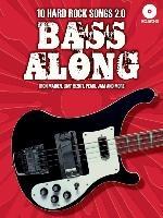 Bass Along 10 Hard Rock Songs 2 Book/CD