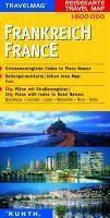KUNTH Reisekarte Frankreich 1 : 800 000