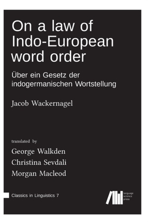 On a law of Indo-European word order