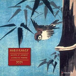 Hiroshige - Japanese Woodblock Printing - Houtsneden Kalender 2021