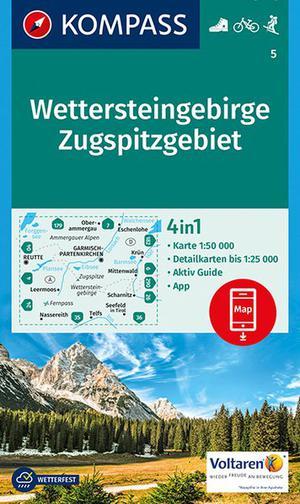 Wettersteingebirge Zugspitzgebiet + Aktiv Guide