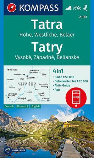 Hohe Tatra D/SK/EN + Aktiv Guide