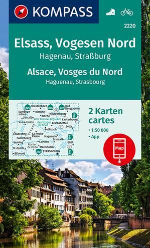 Elzas / Vogezen Noord 2-Set
