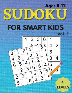 Sudoku For Smart Kids Ages 8-12