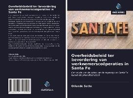 Overheidsbeleid ter bevordering van werknemerscoöperaties in Santa Fe