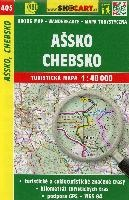 Wanderkarte Tschechien Assko, Chebsko 1 : 40 000