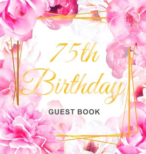 75th Birthday Guest Book