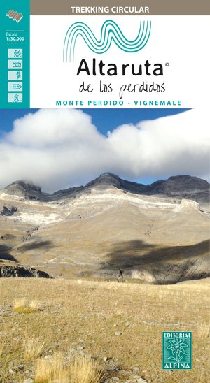 Alta Ruta los Perdidos map&guide Monte Perdido-Vignemale