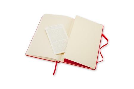 Moleskine Large Plain Notebook Red