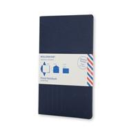 Moleskine Postal Notebook - Pocket Indigo Blue