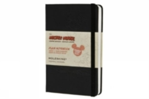 Moleskine Mickey Mouse Black Plain Notebook