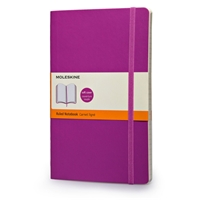 Moleskine Classic Colored Notebook, Large, Ruled, Orchid Purple