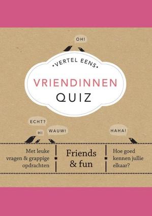 Vertel Eens Vriendinnen Quiz
